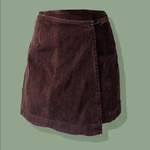 Dresses & Skirts - brown corduroy high waisted skirt